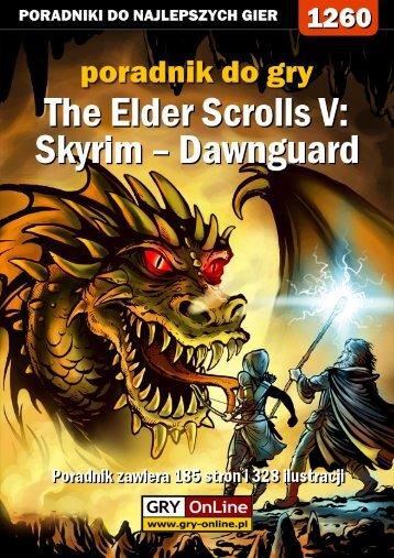 Poradnik GRY-OnLine do gry The Elder Scrolls V: Skyrim ... - Gandalf