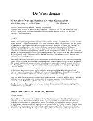 Klik hier om de Woordenaar van mei 2000 te lezen - Fryske Akademy