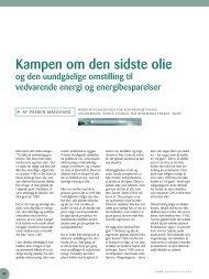 Kampen om den sidste olie - Nordic Folkecenter for Renewable ...