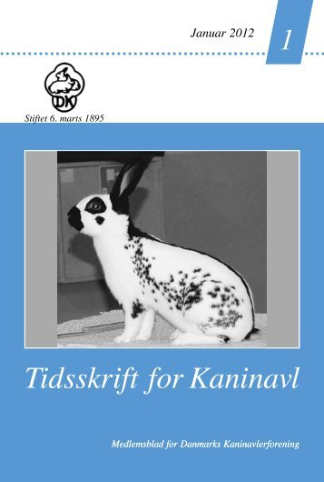 Tidsskrift for Kaninavl