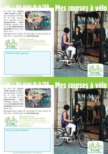 Mes courses à vélo Mes courses à vélo - Fédération française des ...