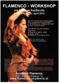 NOCHE FLAMENCA mit Silvia de Paz - Academia Flamenca - Seite 2