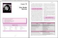 Chapter 13 Disc Brake Service - Goodheart-Willcox