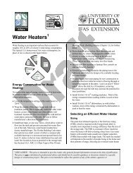 6. Water Heaters - Florida Building Code Information System