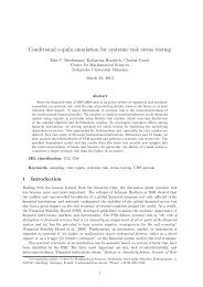 Conditional copula simulation for systemic risk stress testing