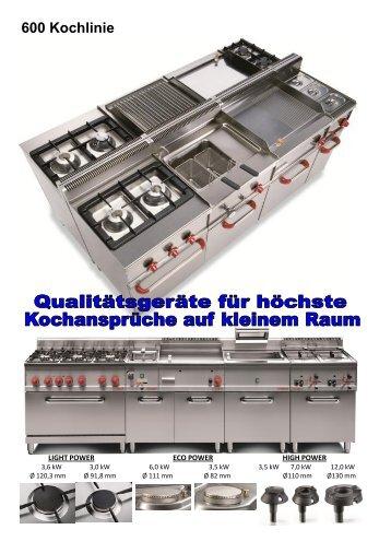 600 Kochlinie - Gastro Concept
