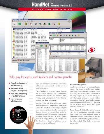 HandNet v2.0 - Galaxy Control Systems