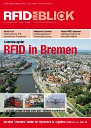 Sonderausgabe - Bremen Research Cluster for Dynamics in Logistics