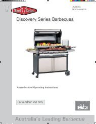 Discovery Series Barbecues - Gardelino