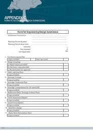 Appendix C – Form to Accompany Design Submissions