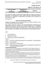 TRGS 619 - Gewerbeaufsicht - Baden-Württemberg