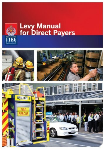 A guide to the New Zealand Fire Service Levy