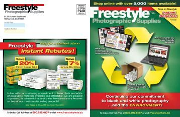 Download Catalog - Freestyle Photographic Supplies
