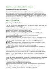 Kurumsal Yönetim İlkelerine Uyum Raporu - Garanti Bankası