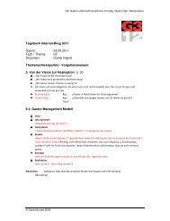 Tagebuch Internet-Blog 2011 Datum: 24.05.2011 ... - GastroSuisse