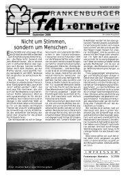 Ausgabe 5-2006 - Frankenburg.com