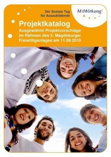 Projektkatalog - Freiwilligenagentur Magdeburg