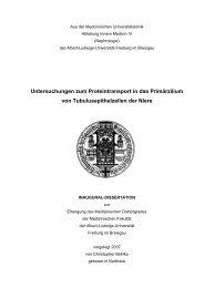 Untersuchungen zum Proteintransport in das Primärzilium von ...