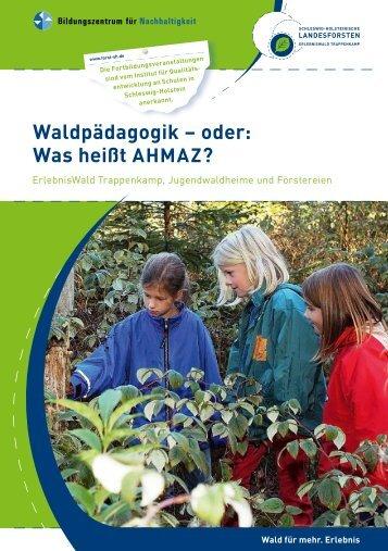 Broschüre - Schleswig-Holsteinische Landesforsten