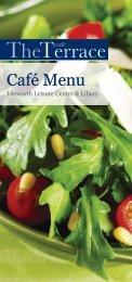 Café Menu - BH Live