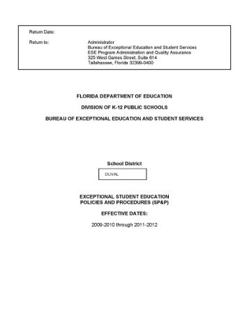 Refusal form TAP.pdf - Exceptional Student Education