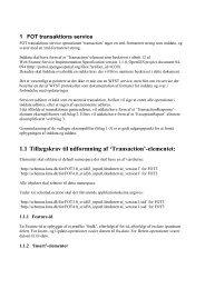 1 FOT transaktions service - FOTdanmark