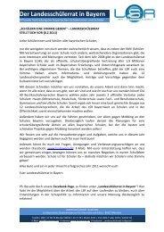Der Landesschülerrat in Bayern - Staatliche Fachoberschule und ...