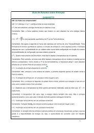 Guia de Estudos sobre Entropia GABARITO - Departamento de ...