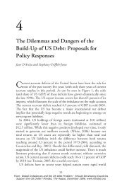 The Dilemmas and Dangers of the Build-Up of US Debt - FONDAD ...