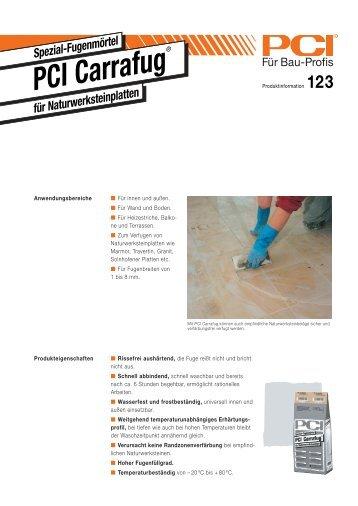 PCI Carrafug Natursteinfugenmörtel - Fliesen Lerche