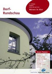 Dorf-Rundschau Februar - März - April 2013 - Theodor Fliedner ...