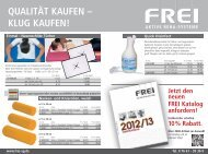 Flyer downloaden - Frei AG