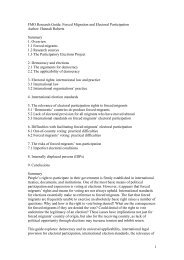 PDF File - Forced Migration Online