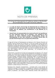El Col·legi de Fisioterapeutes de Catalunya celebra el Dia Mundial ...