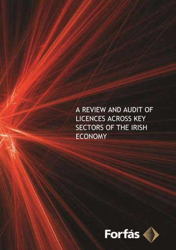 Review and Audit of Licences - Forfás