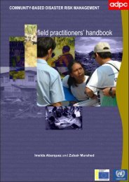 field practitioners' handbook - Asian Disaster Preparedness Center