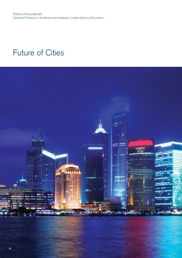 Initial perspective on Future of Cities - Future Agenda