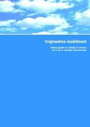 Trajnostna mobilnost - Zbirka gradiv za učitelje in učence od ... - Focus