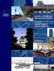Master Plan Update (pdf) - Lansing/Capital City Airport
