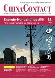 11 2008 Energie-Hunger ungestillt