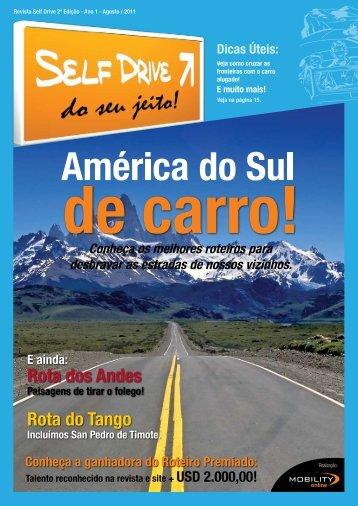 Revista SelfDrive Ed.02 - Ano 1 - 2011