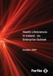 Health Life Sciences in Ireland - Forfás