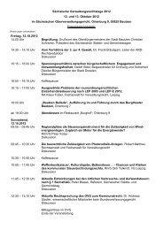 Sächsische Verwaltungsrechtstage 2012 12. und 13. Oktober 2012 ...