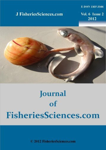 ALL Contents in PDF File, Click Vol. 6 Issue 2 - FisheriesSciences.com