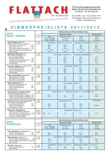 Listino prezzi dei proprietari Flattach 2011-2012.pdf