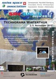 FLYER Space Day 2013 - Gesellschaft der Weltall-Philatelisten, CH