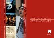 Bilancio Sociale - Fondazione Pergolesi Spontini