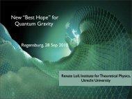 "New ""Best Hope"" for Quantum Gravity"