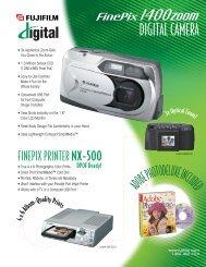 DIGITAL CAMERA - Fujifilm USA