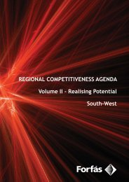 Regional Competitiveness Agenda - Volume II - Realising ... - Forfás